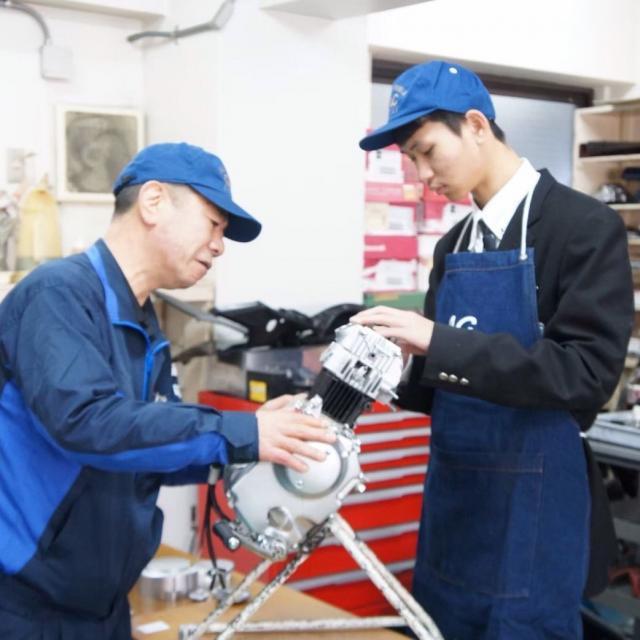 大阪自動車整備専門学校 オープンキャンパス2