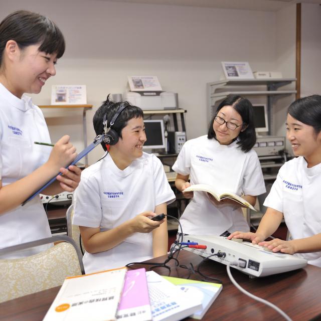 オープンキャンパス(言語聴覚学科)