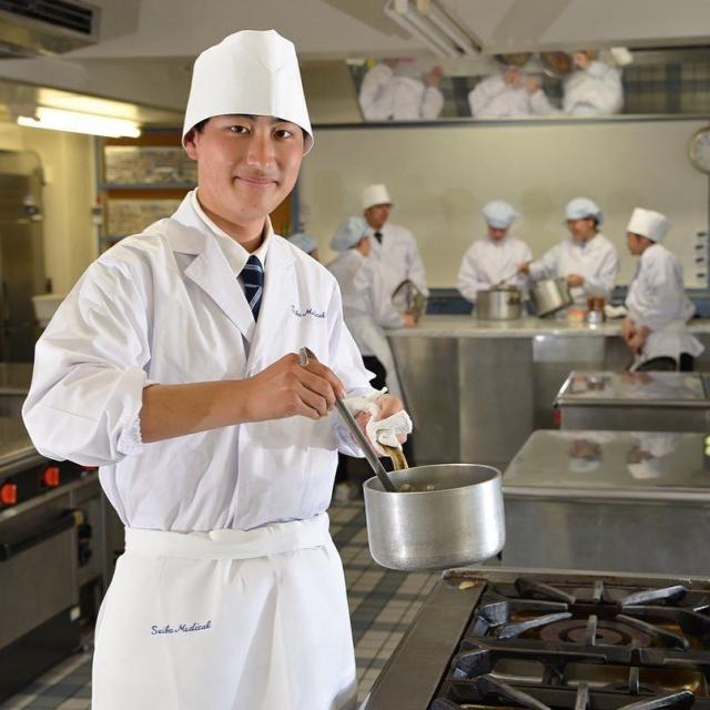 西武学園医学技術専門学校 オープンキャンパス(栄養士科)ロールケーキを作りましょッ3