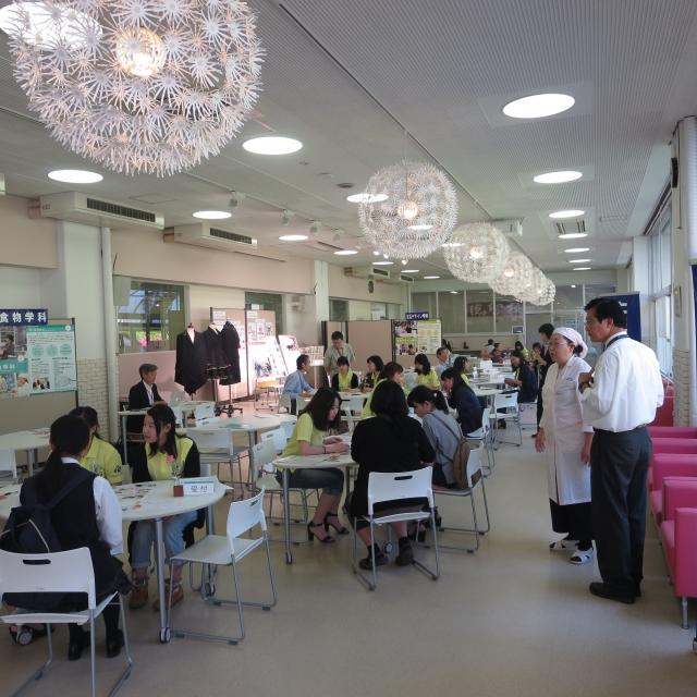東京家政学院大学 オープンキャンパス2019(町田キャンパス)1