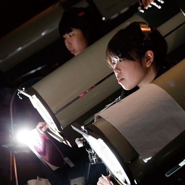 照明スタッフ体験レッスン!!