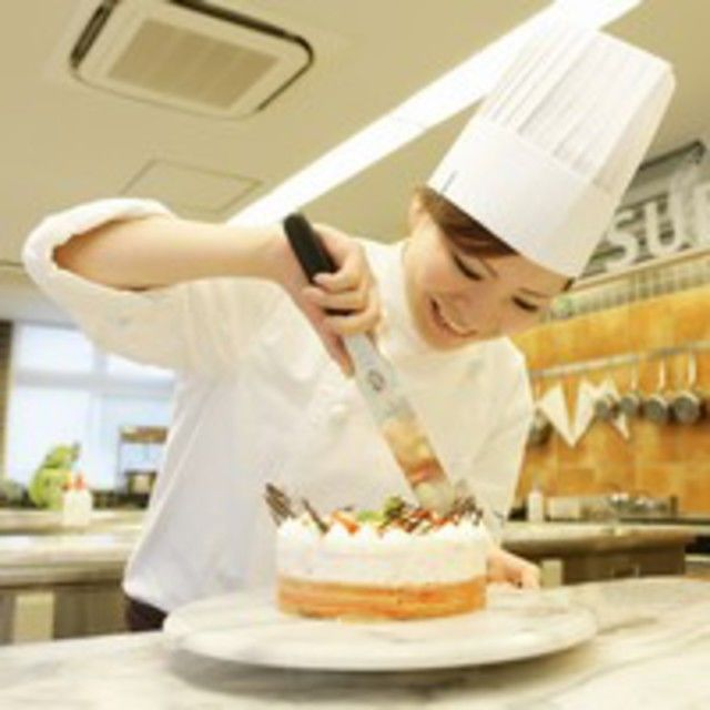大阪調理製菓専門学校 【和泉校本校開催】デコレーションケーキ☆1台持ち帰り2