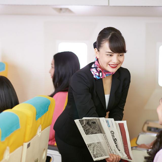 名古屋外語・ホテル・ブライダル専門学校 OPEN CAMPUS 国際エアラインコースへ参加1