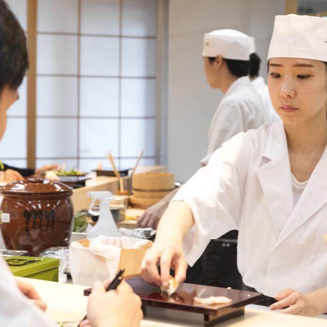 東京すし和食調理専門学校 予約不要!授業見学ができるオープンキャンパス4
