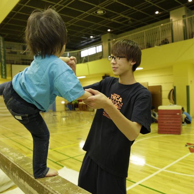 YMCA健康福祉専門学校 学校説明会!体験授業は・・幼児体育を体験しよう1