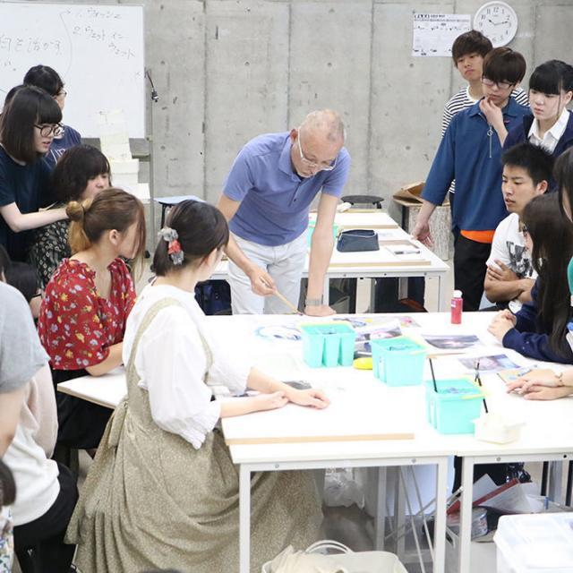 創形美術学校 8月オープンキャンパス PM「創形を知ろう」2