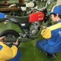 阪和鳳自動車工業専門学校 【阪和鳳オープンキャンパス】バイクコース