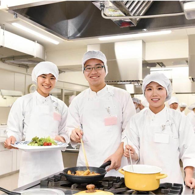 織田栄養専門学校 在校生が作った給食を食べよう!1