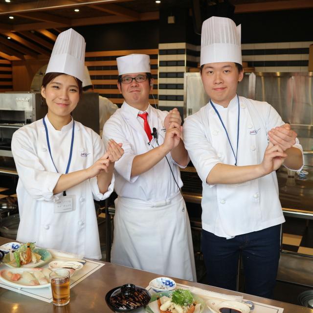 大阪調理製菓専門学校ecole UMEDA 【男子限定】海老と穴子の天ぷら丼4