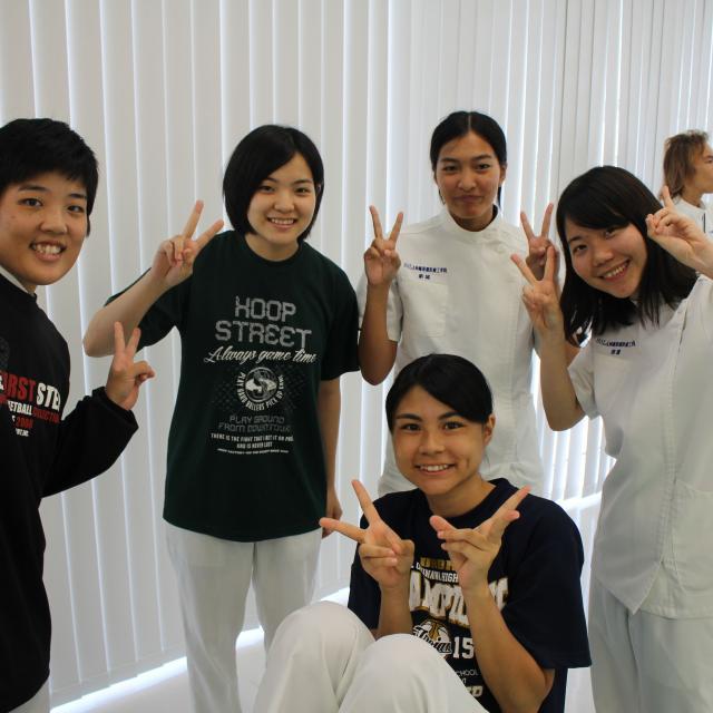 SOLA沖縄保健医療工学院 柔道整復師学科2
