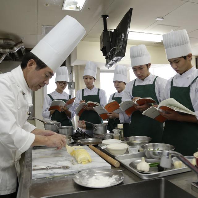 悠久山栄養調理専門学校 卒業生スペシャル【イタリア料理編】 -栄養士科ー2