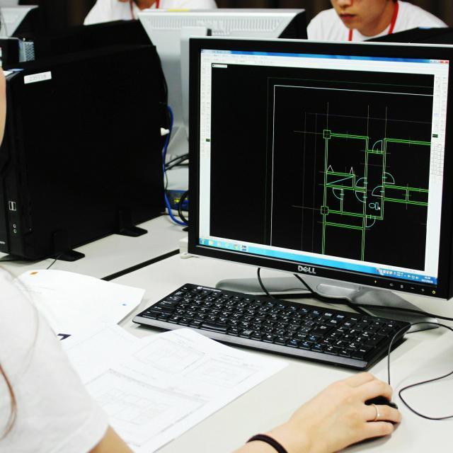 大阪工業技術専門学校 【建築】プチ建築士を体験しよう☆オープンキャンパス☆2