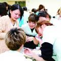 窪田理容美容専門学校 6月10日(日)『KUBORiBiの先輩実習』