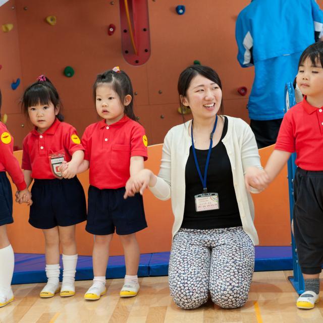 函館大谷短期大学 「こどもと一緒に遊ぼう!!」こども科OC開催!1