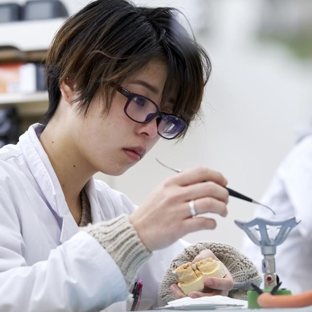 名古屋歯科医療専門学校 楽しく体験実習から自分の可能性が広がる!3