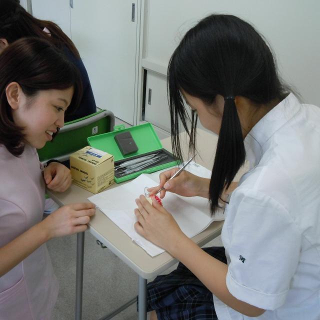 三河歯科衛生専門学校 体験入学3