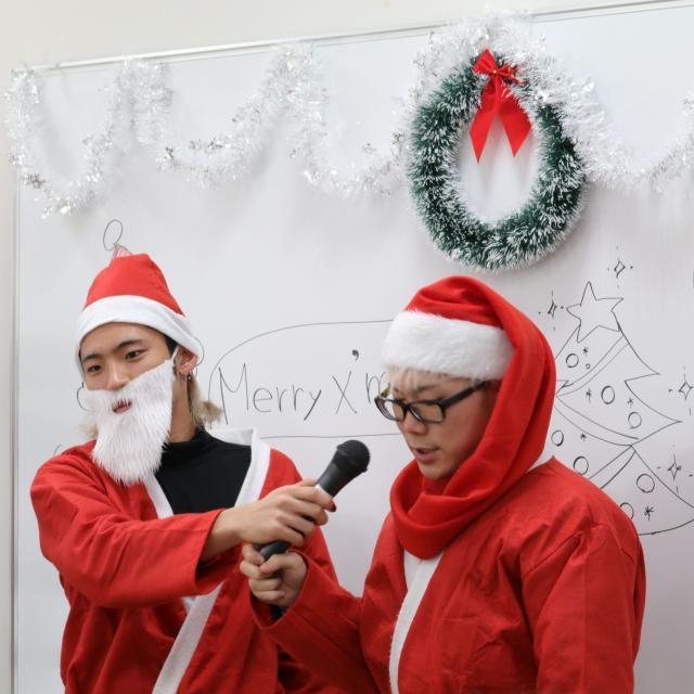 クリスマスイベント(ネイル・メンズアレンジ)