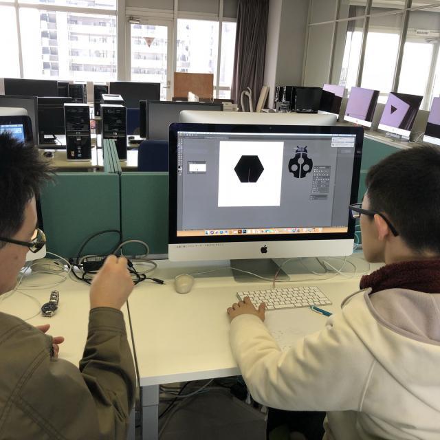 大阪電子専門学校 5月 先輩とモノづくりが体験できるオープンキャンパス4