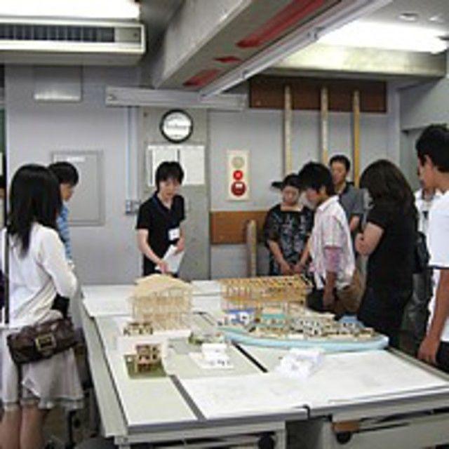 京都建築専門学校 オープンキャンパス1