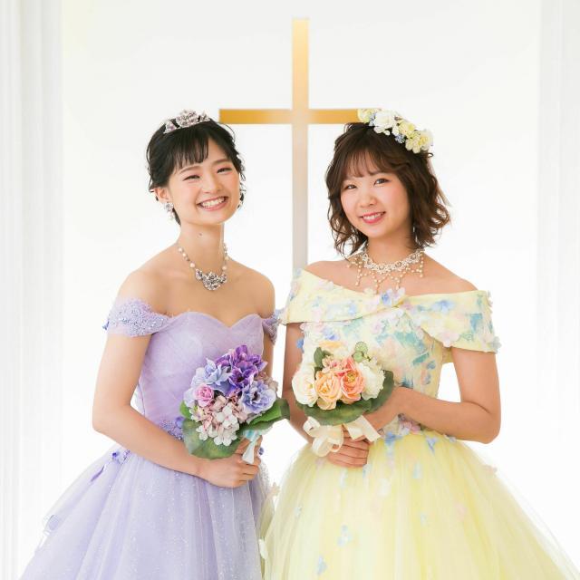 専門学校名古屋ウェディング&フラワー・ビューティ学院 花嫁体験(ウェディングドレス試着)2