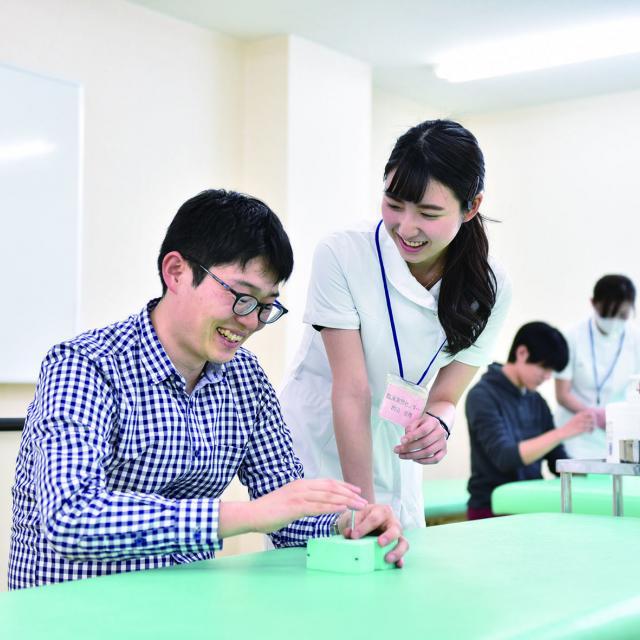 北海道鍼灸専門学校 【鍼灸治療を学ぶ!】学校説明会2018!1