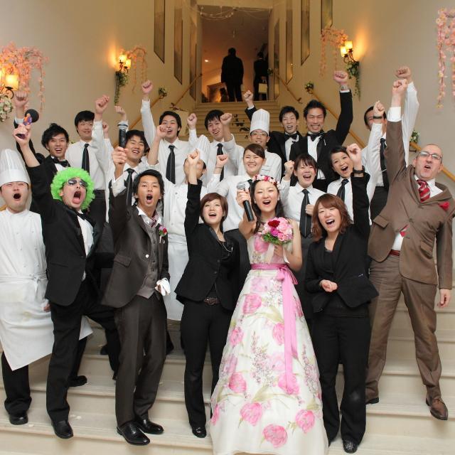 沖縄ブライダル&ホテル観光専門学校 クリスマスイベント3