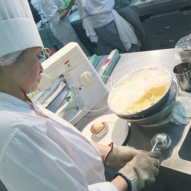 東京栄養食糧専門学校 フルーツを使ったアイスを作ろう【ランチ付】3