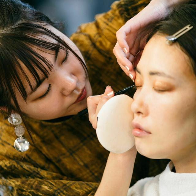 目白ファッション&アートカレッジ ◆来校型◆手軽なヘア・メイク・ネイル・モデルに挑戦!1