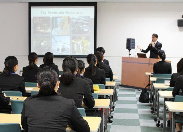 外語 ライン エア 国際 学校 観光 専門