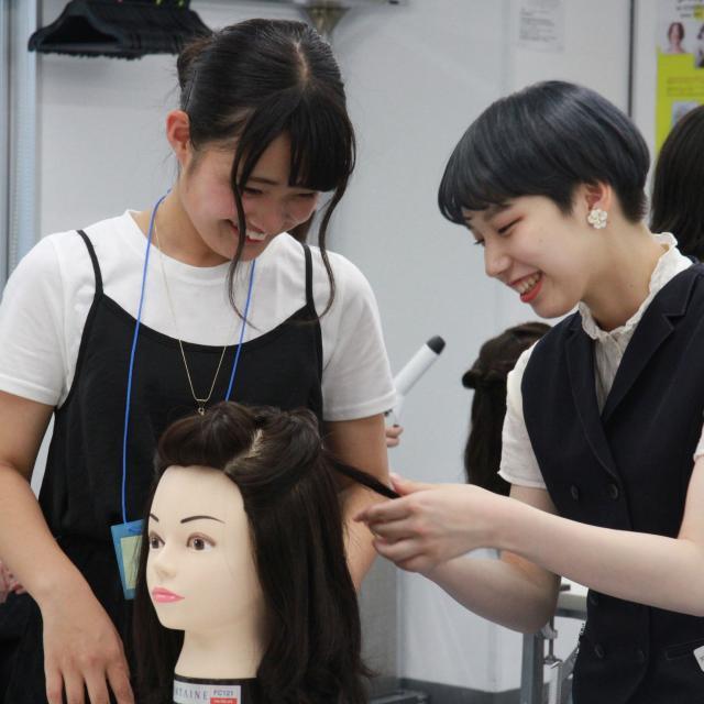 日本美容専門学校 2018 体験入学 【専門科】3