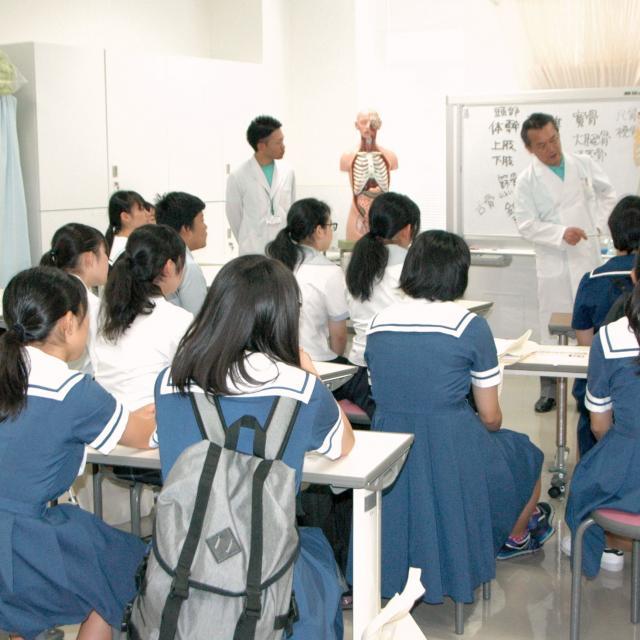 熊本保健科学大学 オープンキャンパス3
