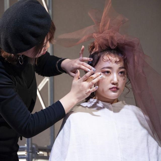山形美容専門学校 山美祭2019 Hair Show「Re.」3