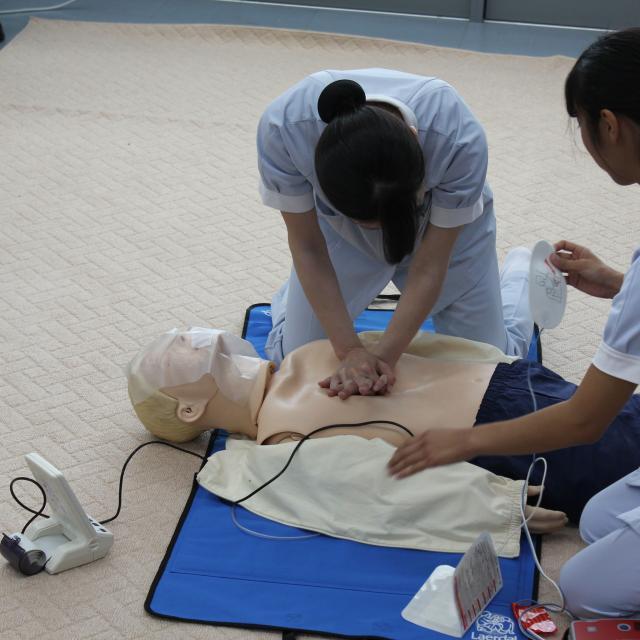 高崎健康福祉大学 【看護学科】夏のオープンキャンパス2