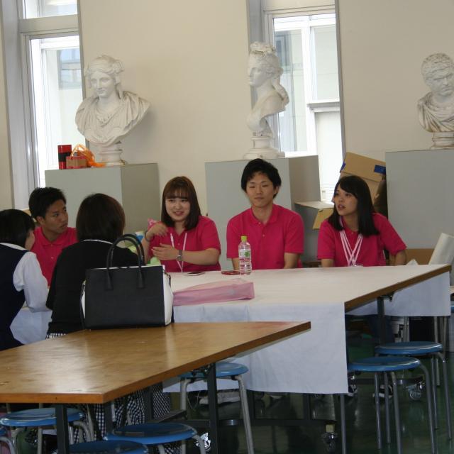 岡山短期大学 8月岡短オープンキャンパス1