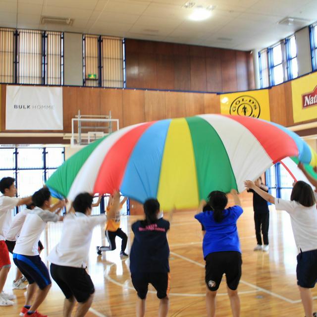 東京YMCA社会体育・保育専門学校 【こどもスポーツ体験】2