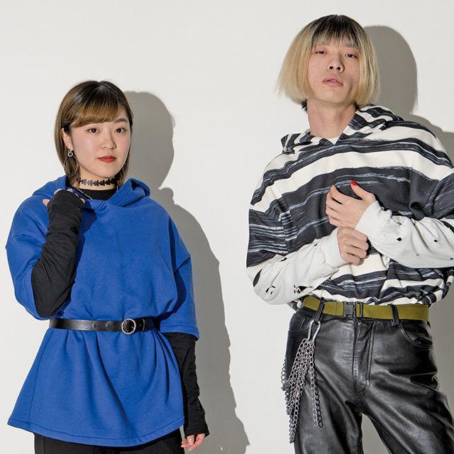 織田ファッション専門学校 パーカー製作2