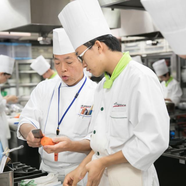 香川調理製菓専門学校 体験入学セミナー(調理コース)1