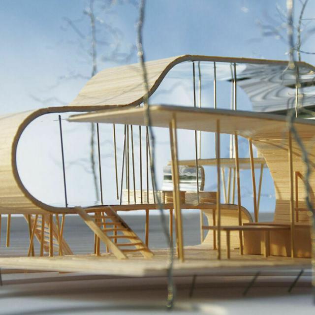 東京デザイナー学院 ミニチュアの空間を体験しよう! ~建築模型の基本講座~1