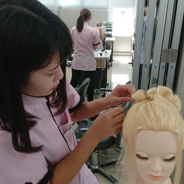 仙台理容美容専門学校 夏の体験入学フェスタ4