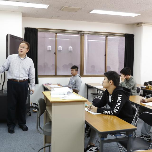 大阪社体スポーツ専門学校 ★公務員系体験模擬授業★3