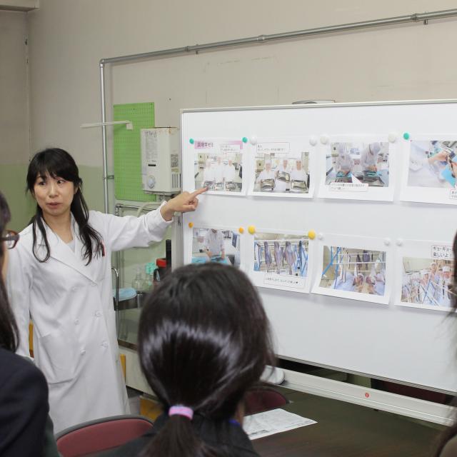 釧路短期大学 2018年度オープンキャンパス3
