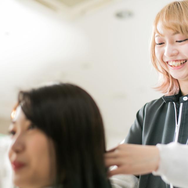 クレアヘアモード専門学校 ★クレアサロンオープン★クレア生のおもてなしを体験Day♪1