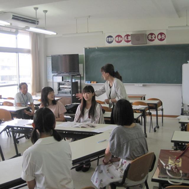 佐賀女子短期大学 ミニオープンキャンパス(特待生入試説明会)3