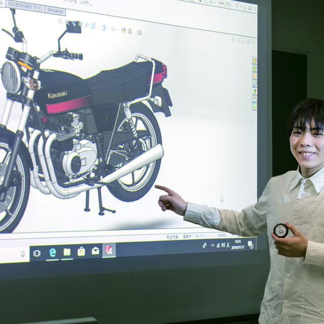 中央工学校 2018体験入学☆オリジナルパーツからプラモデルをつくろう!2