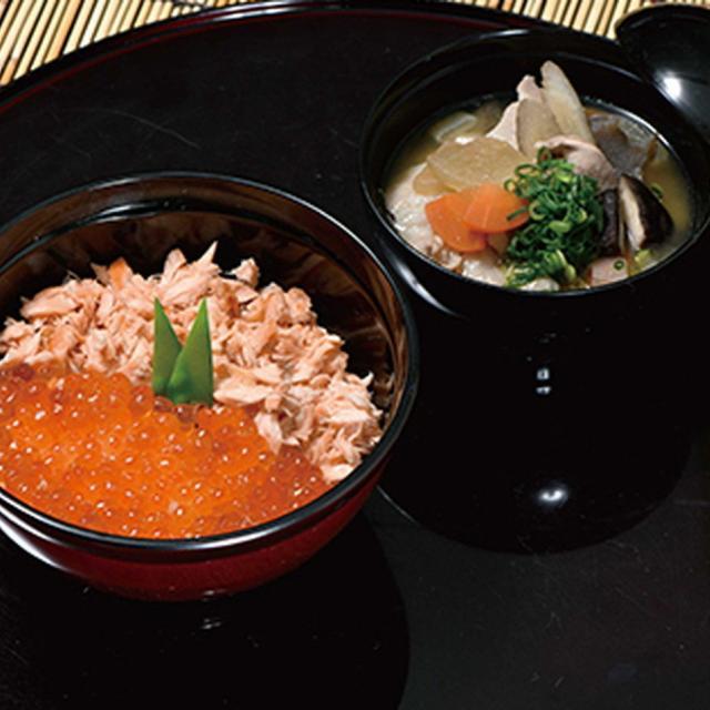 織田調理師専門学校 鮭とイクラの親子丼1
