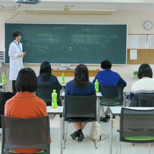 赤門鍼灸柔整専門学校 附属治療所での治療体験オープンキャンパス2