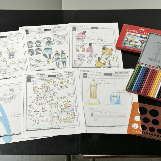 あいち造形デザイン専門学校 商品のイメージキャラクターを考えよう!~企画デザインコース~1