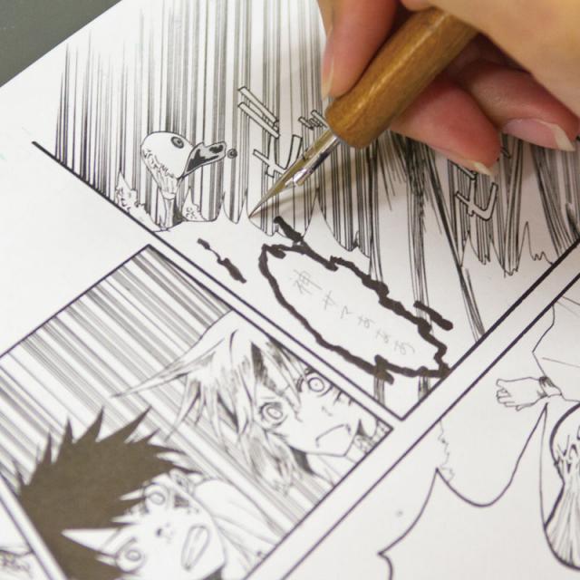 専門学校 九州デザイナー学院 2月の体験入学(マンガ・コミックイラスト)2
