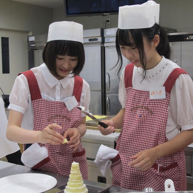 中部製菓専門学校 体験入学2