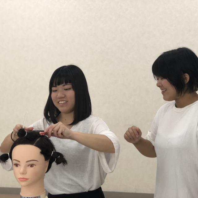 hibc花園国際美容学院 1DAY SCHOOL 美容の仕事を1日体験!2